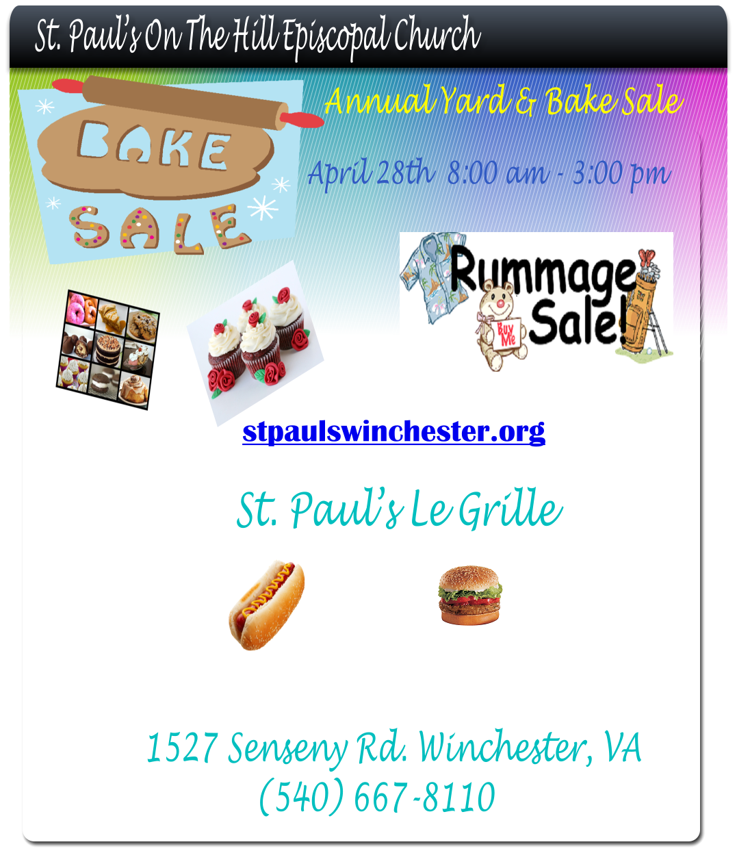 Yard Sale Flyer 2018 | St  Paul's on-the-Hill Episcopal Church